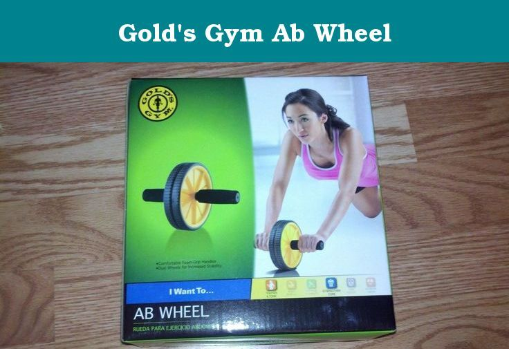 Gold's Gym Ab Wheel. The Gold's Gym Ab Wheel gives you one of the best core and upper body sculpting and toning exercises you can get. The Ab Wheel targets your abs, shoulders, arms and back for a strength building workout.