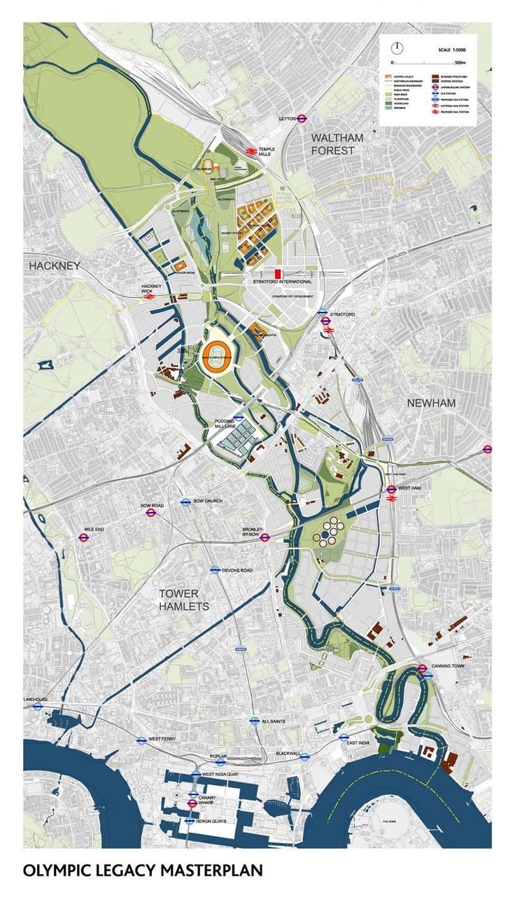 London 2012 Legacy master plan.