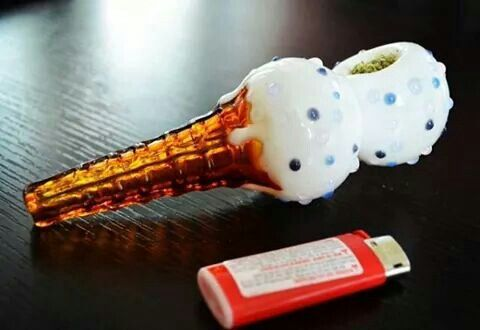 Ice cream cone glass pipe