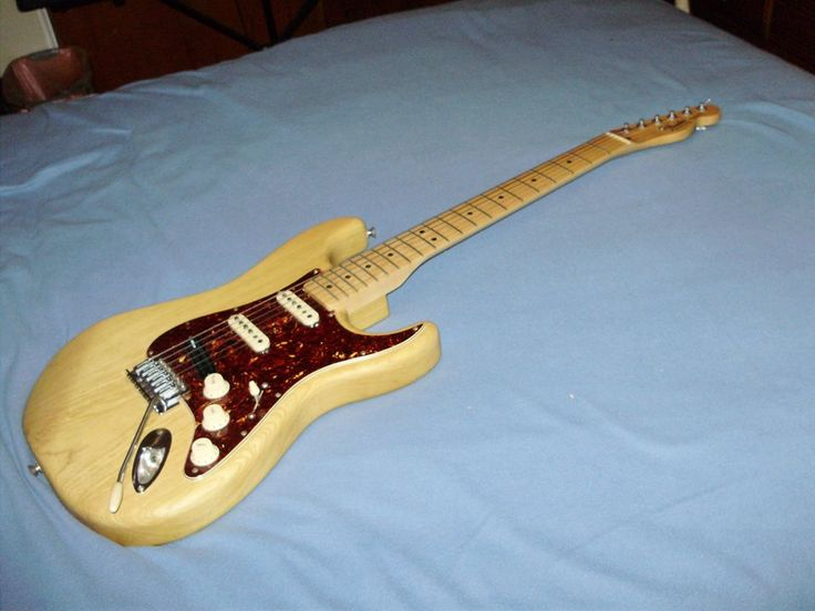 2006 - Fender Stratocaster with 2006 Fender Telecaster neck (Mexico)