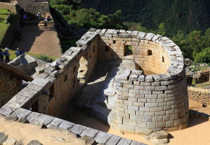 MACHU PICCHU, El Templo del Sol , PERU