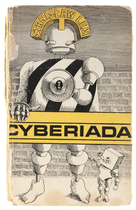 Daniel Mróz, cover for The Cyberiad, 1972