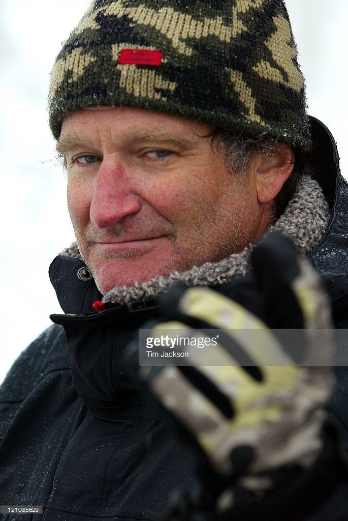 Robin Williams during 2003 Celebrity Sports Invitational Ski Event in Squaw Valley at Resort at Squaw Creek in Lake Tahoe, California, United States.