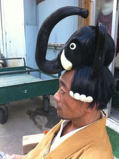 and I thought I was being original by getting my hair styled like this!