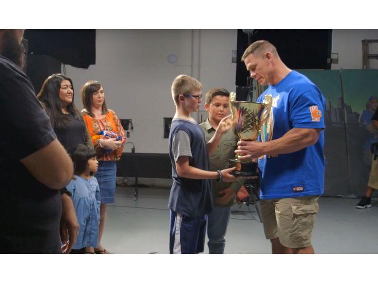 John Cena's fans surprise him in tear-jerking reaction video http://www.mensfitness.com/life/entertainment/john-cenas-fans-surprise-him-tear-jerking-reaction-video?utm_campaign=crowdfire&utm_content=crowdfire&utm_medium=social&utm_source=pinterest