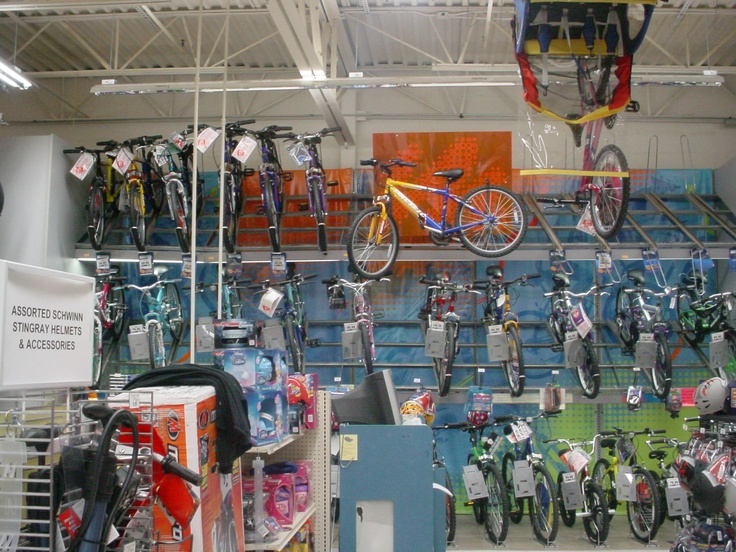 Bikes for Toys R Us