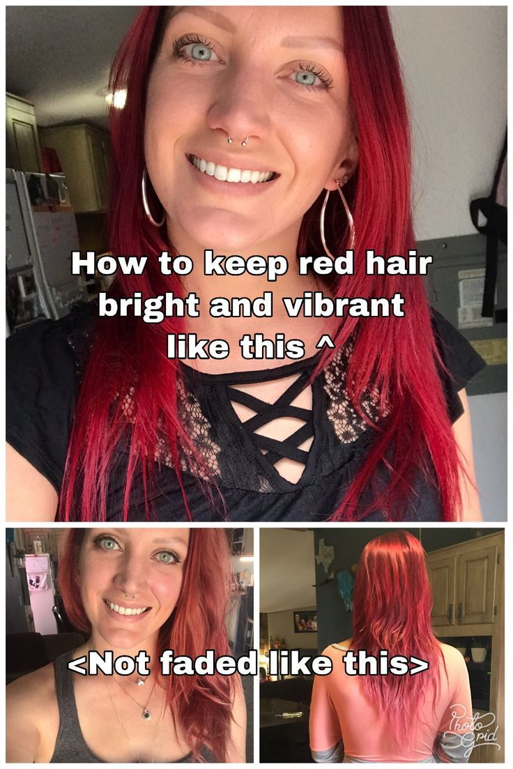 Maintaining Red Hair The Recovering Mother Red Shampoo Shampoo For Dyed Red Hair How To Maintain Dyed Red H Red Hair Fade Bright Red Hair Red Hair Tips