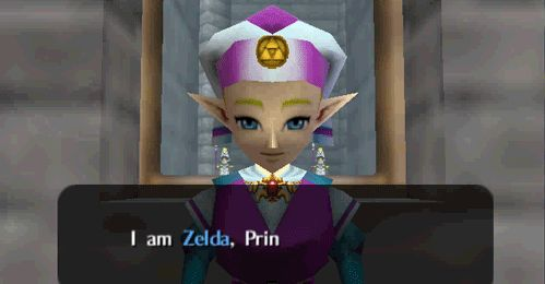 My Kick-Ass Gaming Tumblr — The Legend of Zelda: Ocarina of Time - Princess...