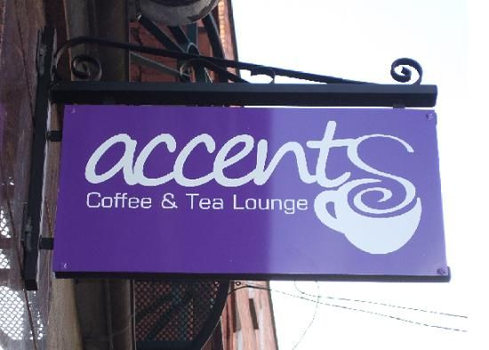 Accents coffee and tea lounge - on Stephens Street (opposite side to Hairy Lemon)