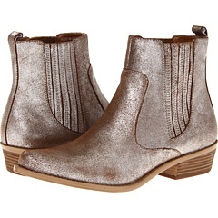 Wow, loving these metallic booties at Zappos. Nice subtle color.