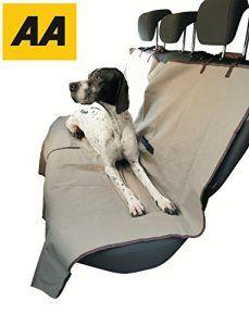 housse de siège de chien pour les animaux et les enfants et protège vos sièges arrière de la saleté, les cheveux et les déversements –…