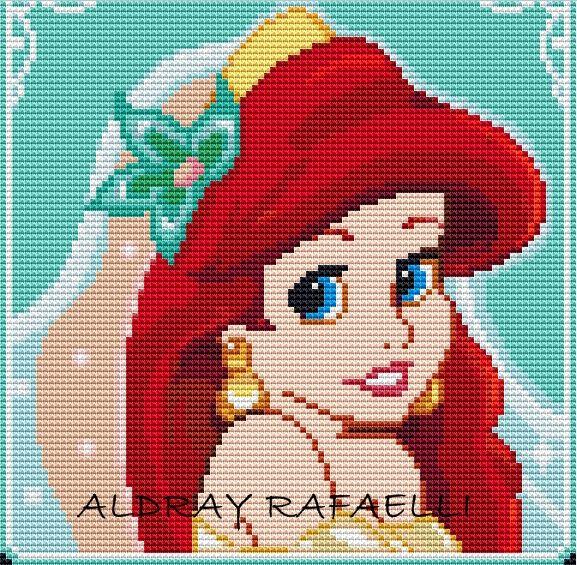 graficos ponto cruz princesas - Yahoo Image Search Results