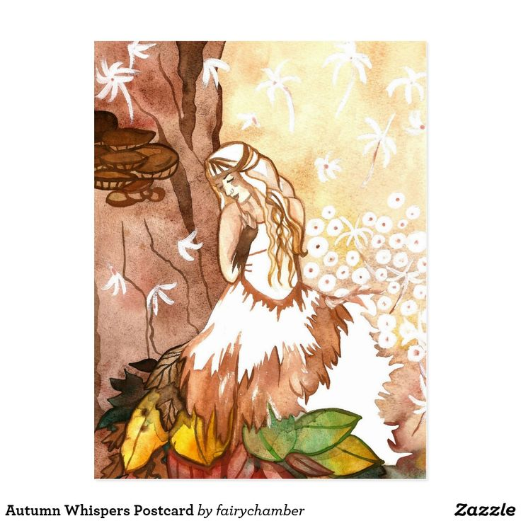 Autumn Whispers Postcard