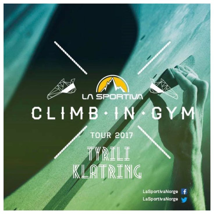 "133 likerklikk, 1 kommentarer – La Sportiva Norge (@lasportivanorge) på Instagram: ""Today the Climb In Gym Tour 2017 is at Tyrili Klatring - Lillehammer - We hope that we see you…"""