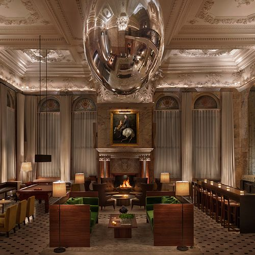 The London Edition Hotel Latest From Hospitality Master Ian Schrager Is A Study In Polished Glamour Rich Jewel Tones And Sophisticated Details