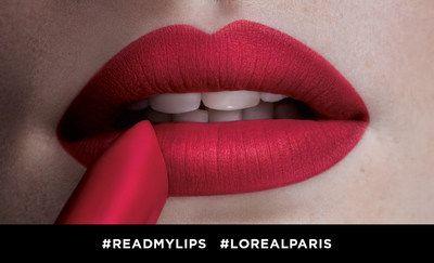 L'Oréal Paris celebra el lanzamiento de su nuevo Colour Riche Matte Lipstick en el Día Nacional del Lápiz Labial con #ReadMyLips   La campaña busca elevar las conversaciones en torno al día y alentar a las personas a hacer que sus labios luzcan intensos de distintas maneras.  NUEVA YORK Julio de 2017 /PRNewswire-/ - Para celebrar el lanzamiento del nuevo lápiz labial Colour Riche Matte Lipstick de L'Oréal Paris la marca global número uno de belleza está aprovechando el Día Nacional del Lápiz…