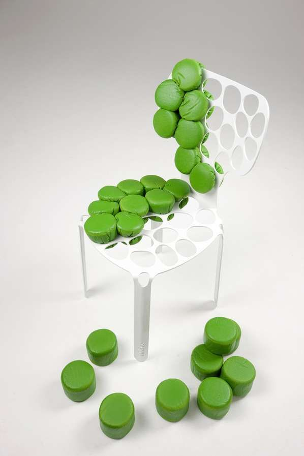 Skin Cell Seats - The 'bOne' Chair is Inspired by the Human Body (GALLERY)