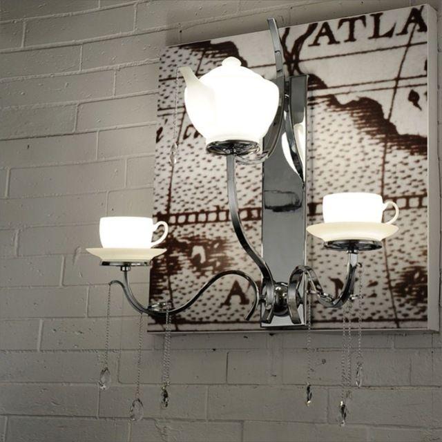 Teapot kettle tea utensils tea chandeliers wall clubs living room luxury hotel project home study restaurant