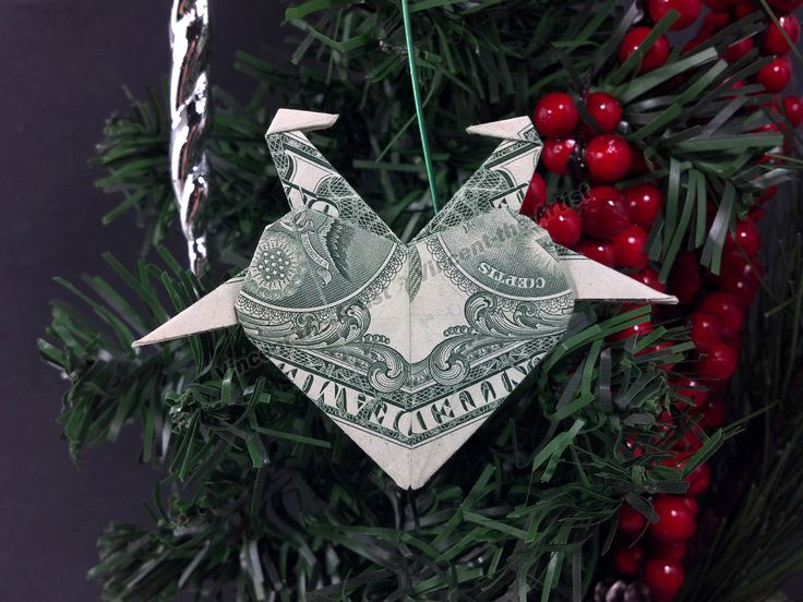 78 Best $ Origami TREE Ornaments Images On Pinterest