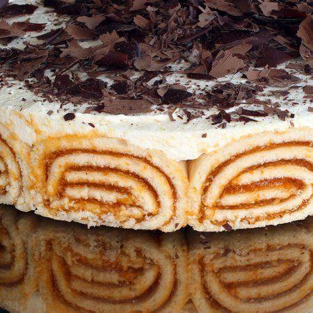 Túrós-barackos Charlotte torta Recept képpel -   Mindmegette.hu - Receptek
