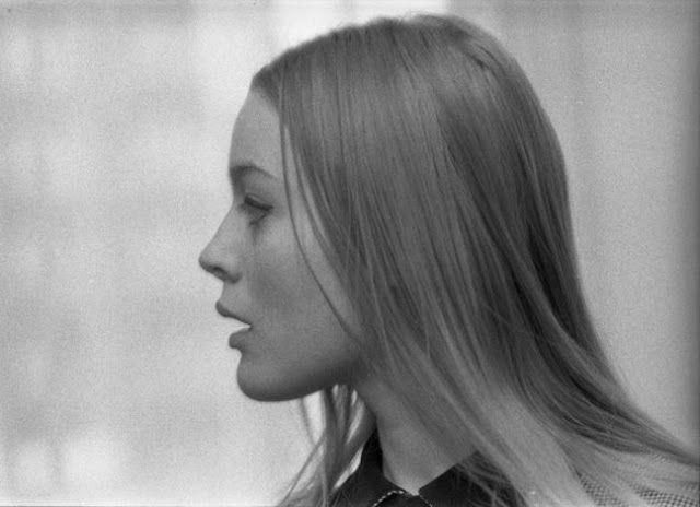 The stunning Czech actress Magdaléna Vášáryová captured in three mesmerizing black and white portraits. Circa 1960-70s.