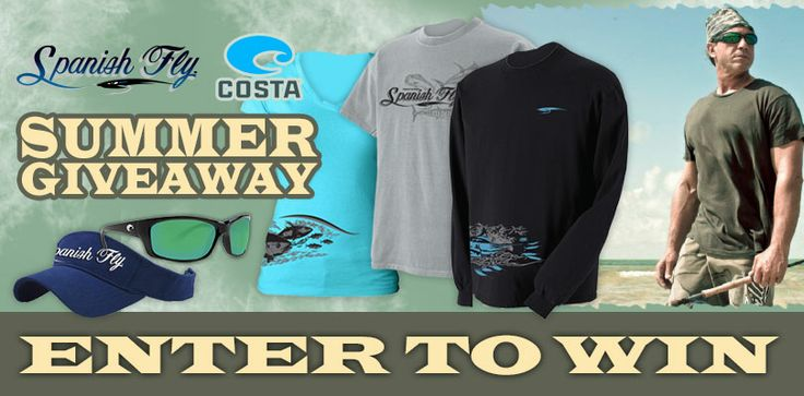 Enter in to win a pair of Costas and Spanish Fly gear from Jose Wejebe Spanish Fly Memorial Foundation.