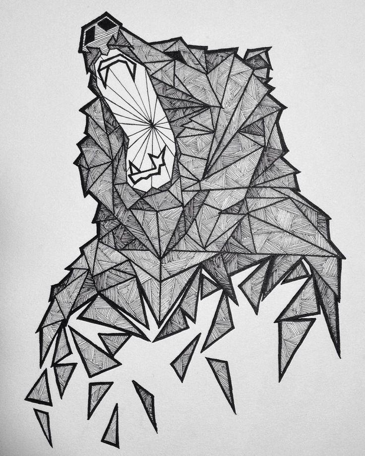 Line Drawing Of Bear Face : Best bear sketch ideas on pinterest drawing