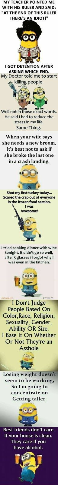 #Funny #Quotes Collection By The Minions
