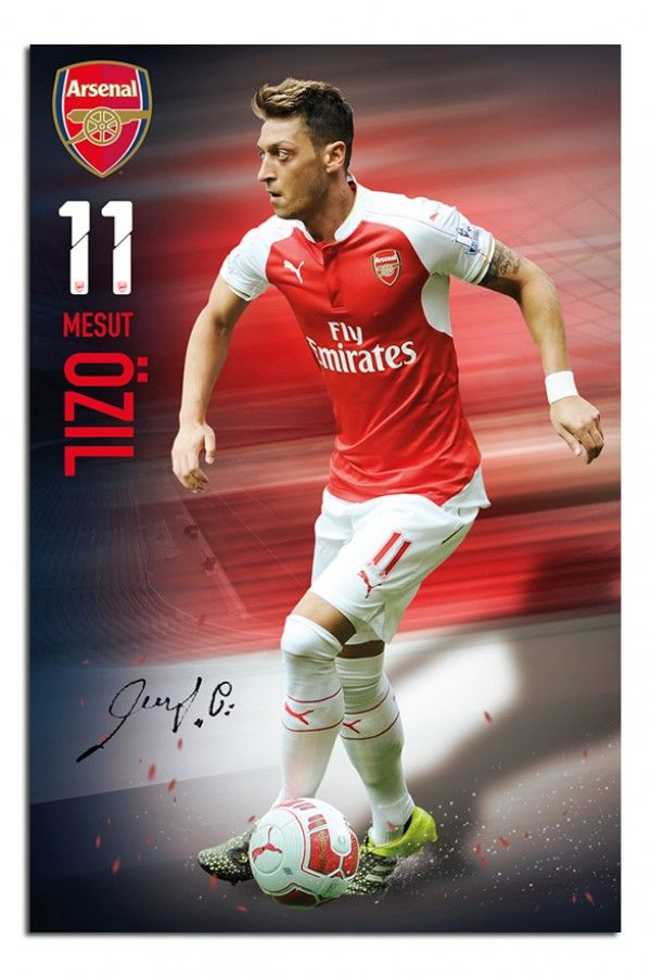 Arsenal FC Mesut Ozil Poster   iPosters