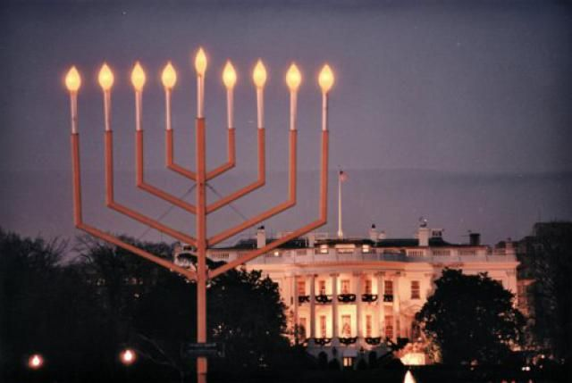 Best 10 Ways to Celebrate the Holidays in Washington DC: Attend the National Hanukkah Menorah Lighting Ceremony