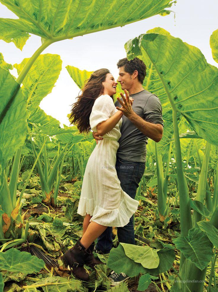 Evangeline Lilly & Matthew Fox