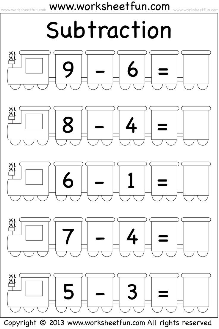 subtraction worksheet math computation pinterest subtraction worksheets and worksheets. Black Bedroom Furniture Sets. Home Design Ideas