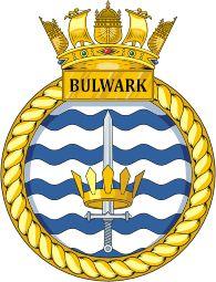 HMS Bulwark (L15) badge