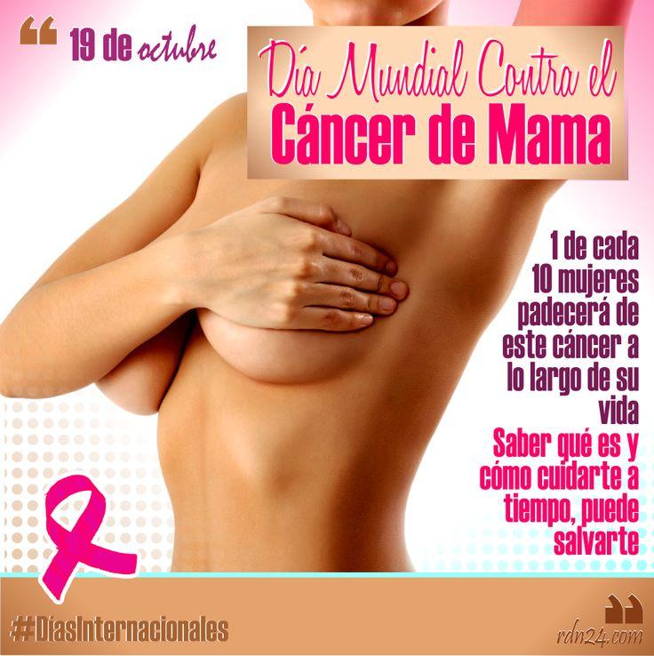 19 de octubre d a mundial contra el c ncer de mama d asinternacionales salud pinterest - Alimentos contra el cancer de mama ...