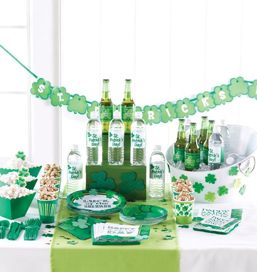 Image detail for -Wholesale St. Patrick's Day Party Supplies - Irish Themed Decorations ...