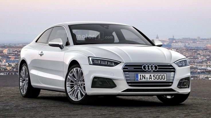 2017 #Audi #A5 Coupe rendering