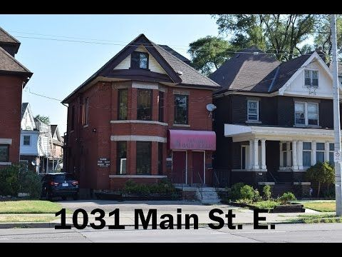 Open House April 2, 2017 2-4 pm  Investment property for sale Hamilton 1031 Main St. E Mark Woehrle- RE/MAX Escarpment Real Estate Agent