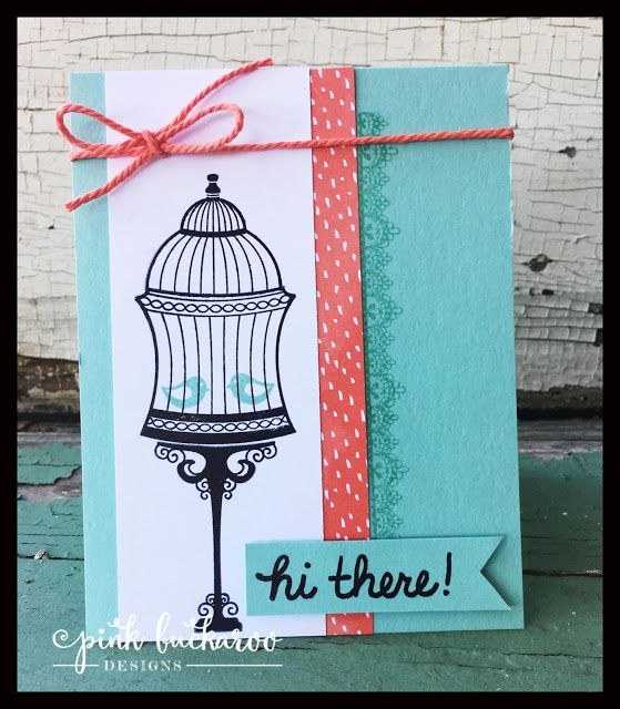 Hello again! Thanks for stopping by today! I have a card for you that features a new product fr...