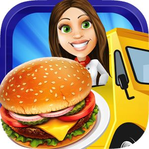 Food Truck Fever 2:Street Chef https://play.google.com/store/apps/details?id=com.fme.food.truck.fever.ll