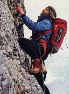Reinhold Messner; The first person to conquer the 14 peaks is Italian Reinhold Messner who climbed his first 8,000 meter peak in 1970 and finished his last in 1986.