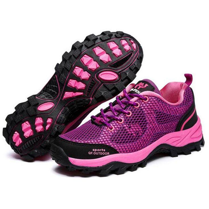 Air Mesh Women Casual Shoes Women Walking Flat Anti-skid Aqua Water Shoe Travel Trekking Shoes Zapatos Mujer Chaussures Femme 95