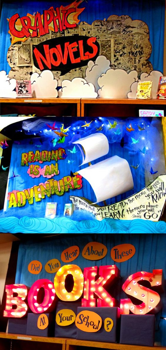 Interested in children/youth programming or creative book displays?