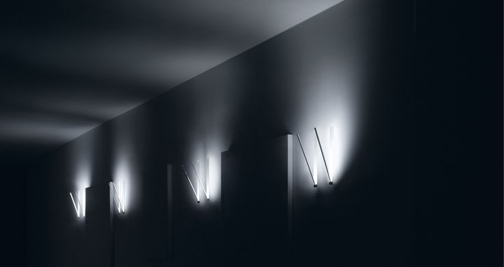 Spillo: technology and design in a LED lamp | Softness and the purity of lines for walls, ceilings and floors #ledlab #products