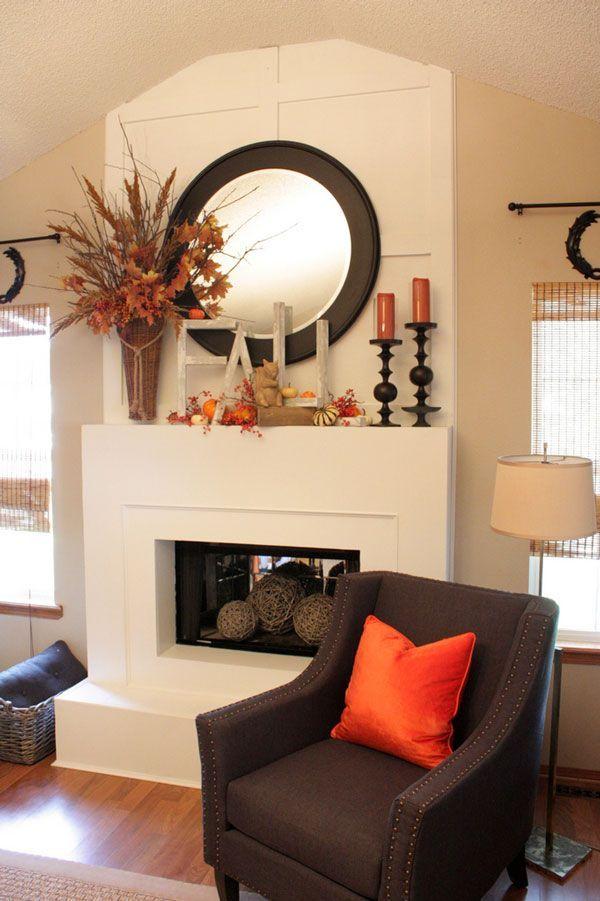 51 best mantel decorating images on pinterest home ideas - Modern mantel decor ideas ...