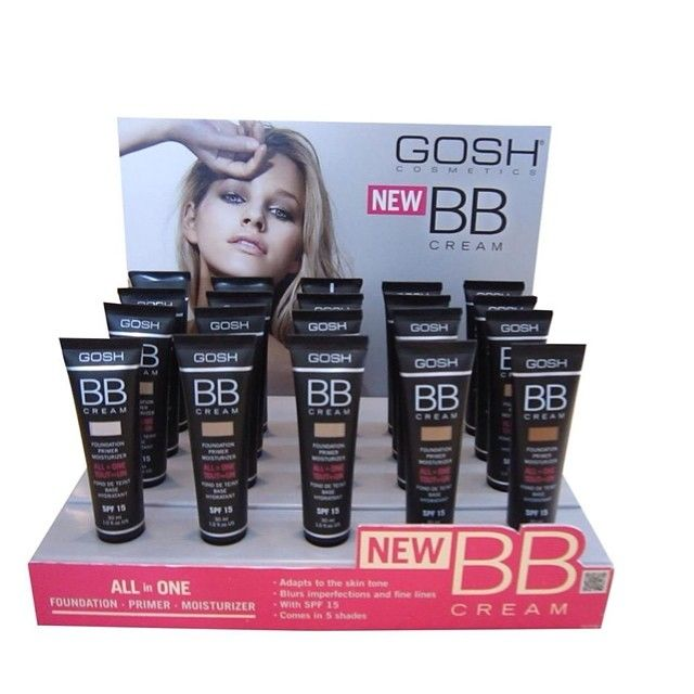 "42 Likes, 3 Comments - gosh cosmetics (@goshcosmetics_) on Instagram: ""Gosh BB Cream is an all in one product: with foundation, primer and moisture in just one product. 5…"""