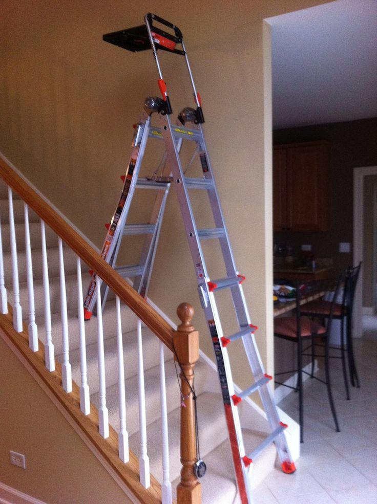 Little Giant Ladder Side Stair Our Ladders Pinterest