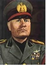 Benito Mussolini during World War II was the prime minister of Italy until 1942 when he was overthrown.  He formed the Fascist party and he was a close ally with Hitler.  He then joined the war in 1940 on the Nazi Germany side.  Then in 1943 the Allies invaded Italy and Benito Mussolini was executed by the Communist Resistance units.