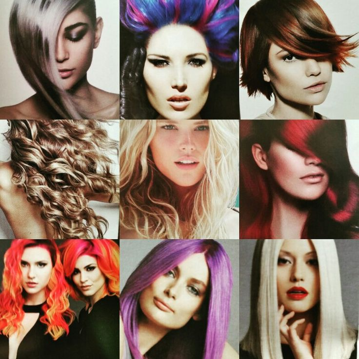 A few inspirng looks by the amazing talent from the Color cut and style show Fort Lauderdale.