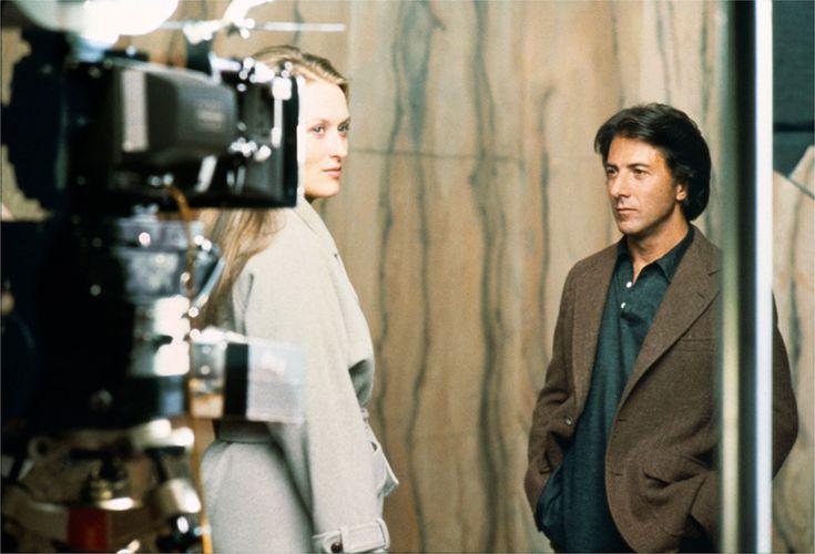 """Meryl Streep et Dustin Hoffman ensemble dans l film """"Kramer contre kramer"""" © Copyright Brigitte Lacombe"""