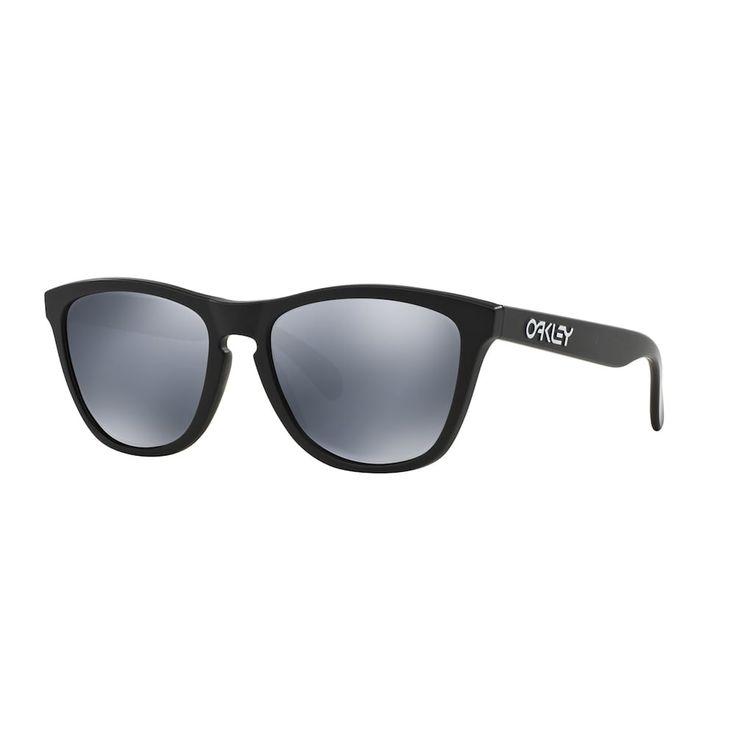 Oakley Frogskins OO9013 55mm Square Black Iridium Polarized Sunglasses, Women's